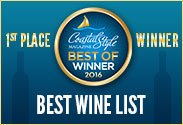 2016 Best Wine List