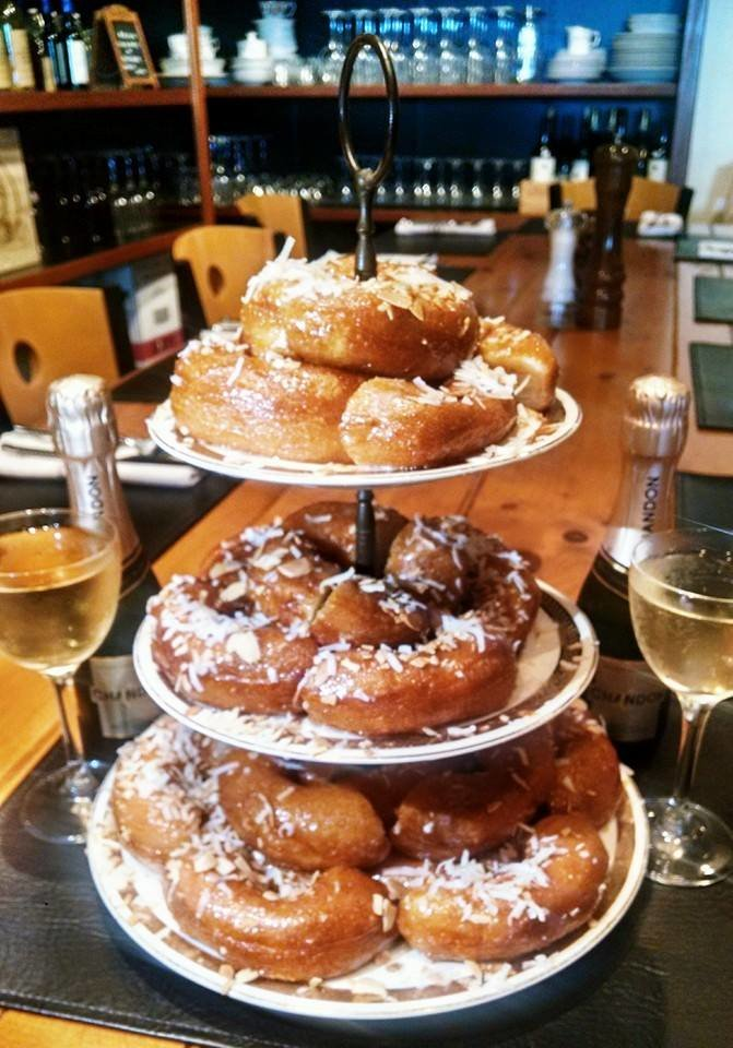 Liquid Assets' Doughnut Cake and Wine