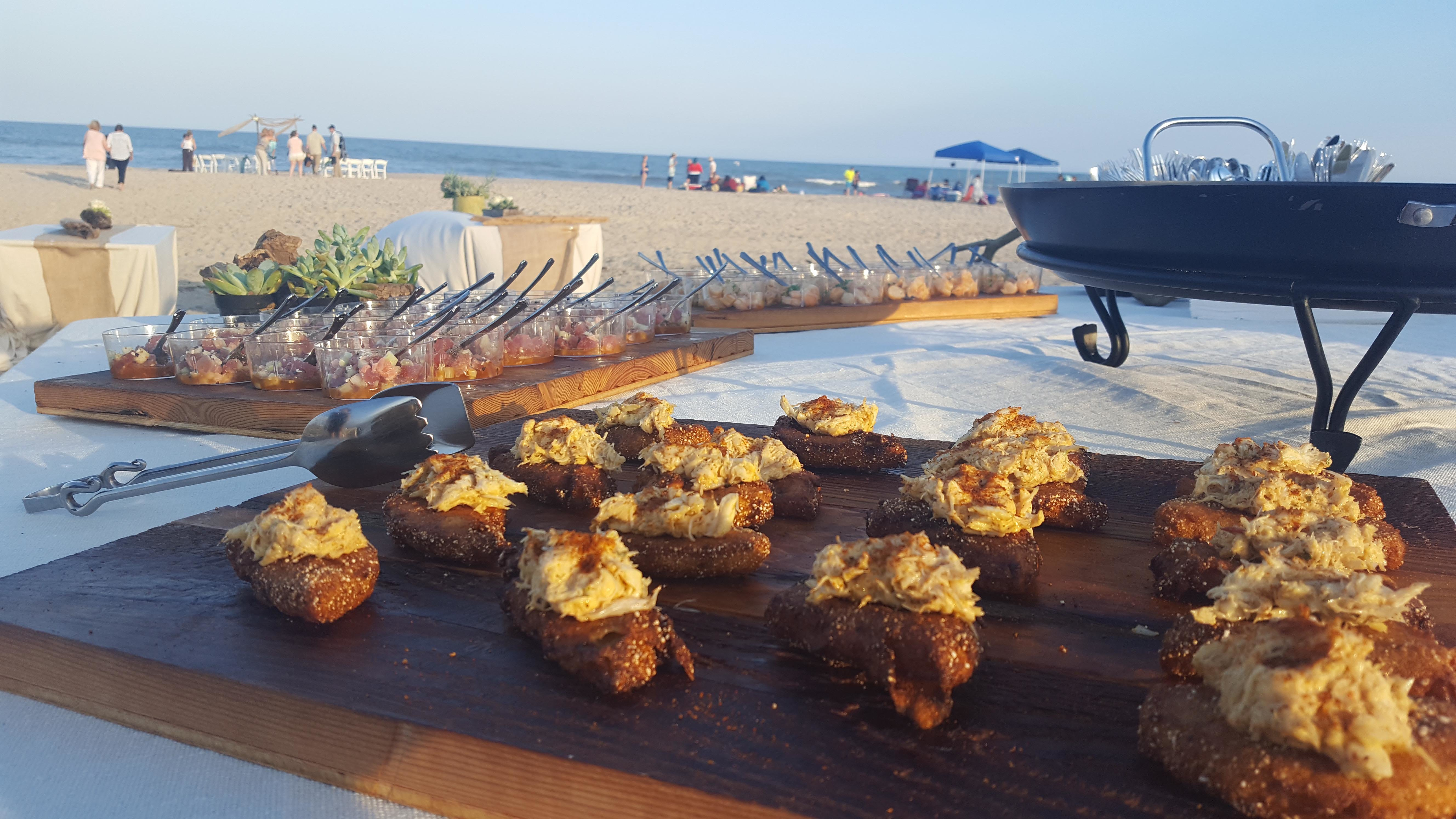 Catering on the Beach in Ocean City, MD