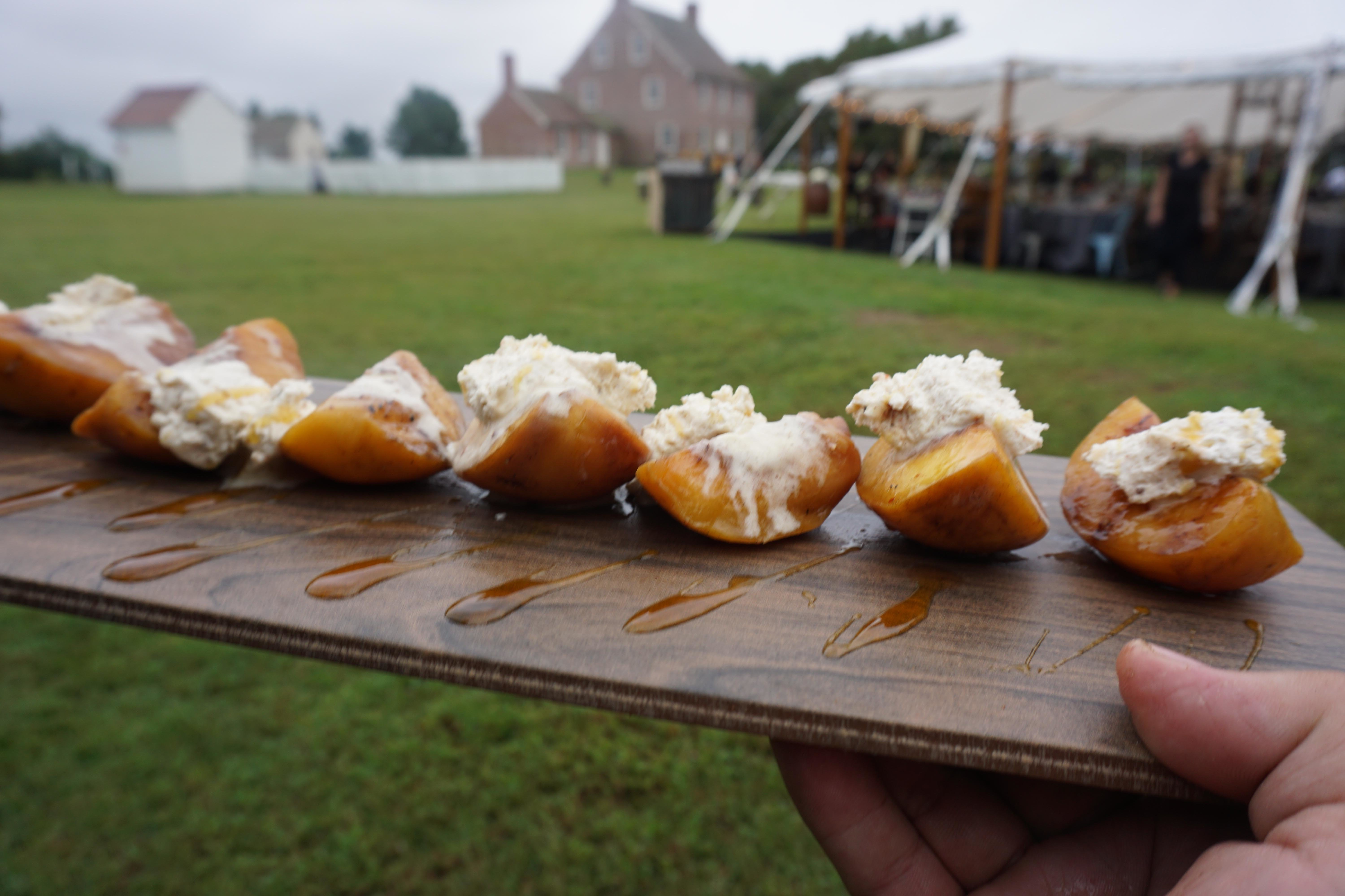 Sweet Potato Appetizer at Event