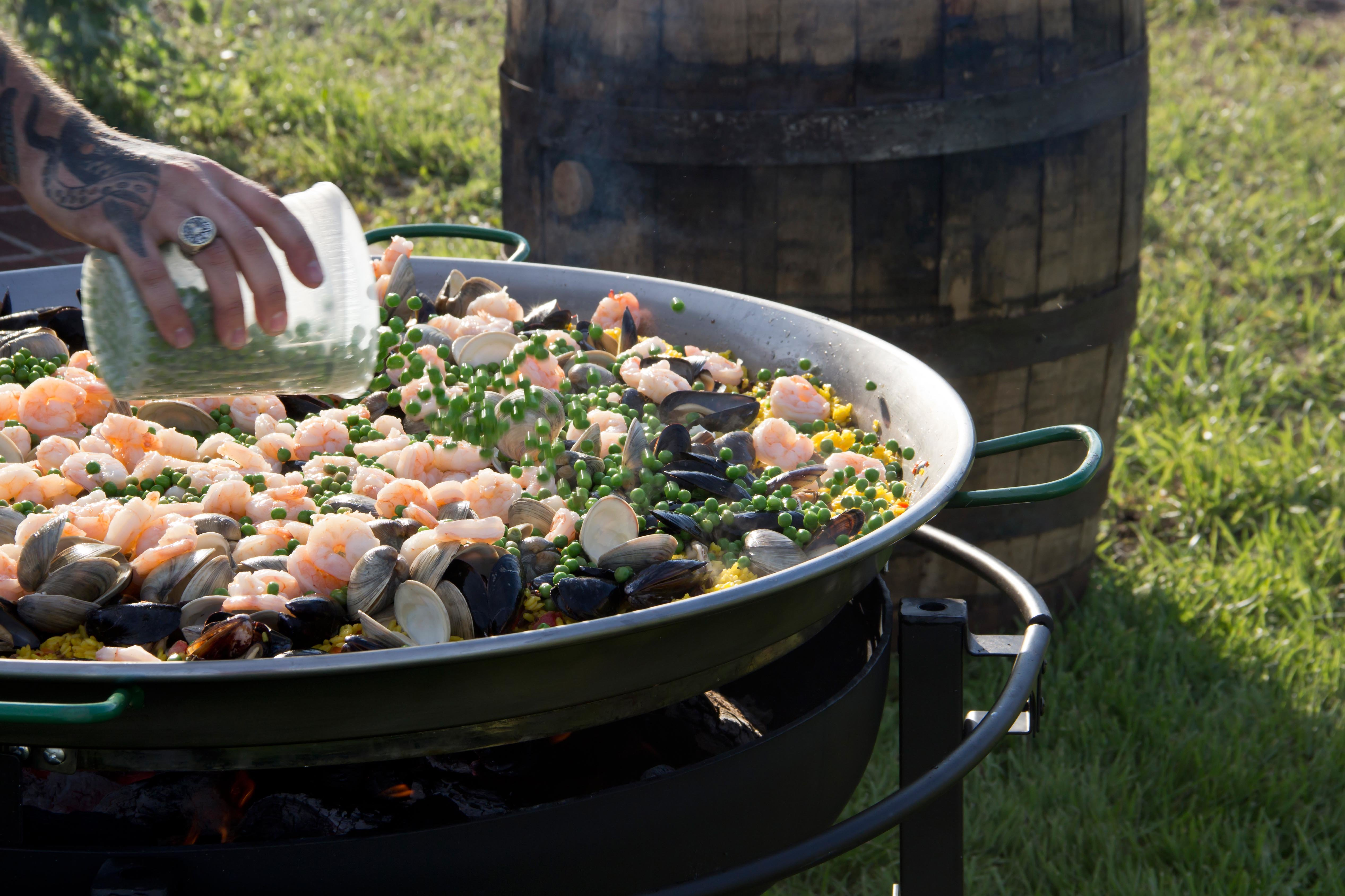 Low Country Boil at Catering Event